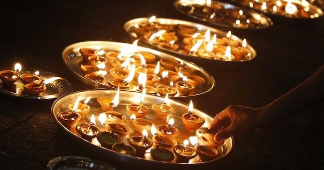 diwali-candles
