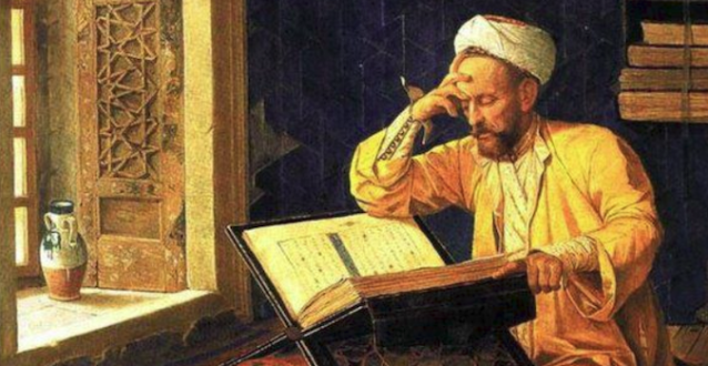 arabscholaran-arab-scholar-working-diligently-in-the-house-of-wisdom